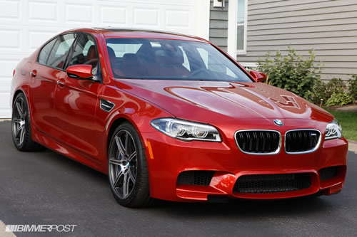 BMW M5 F10 Competition Package